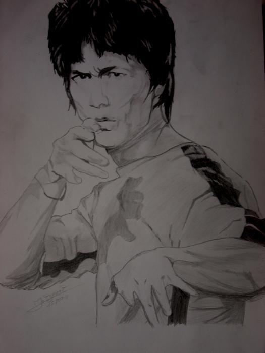 Bruce Lee par Ikigami